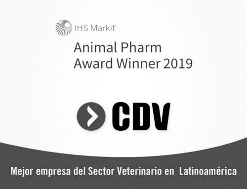 CDV, Mejor empresa del Sector Veterinario en Latinoamérica 2019